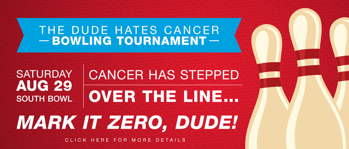 The Dude Hates Cancer Bowling Tournament at South Bowl in Philadelphia - 2015