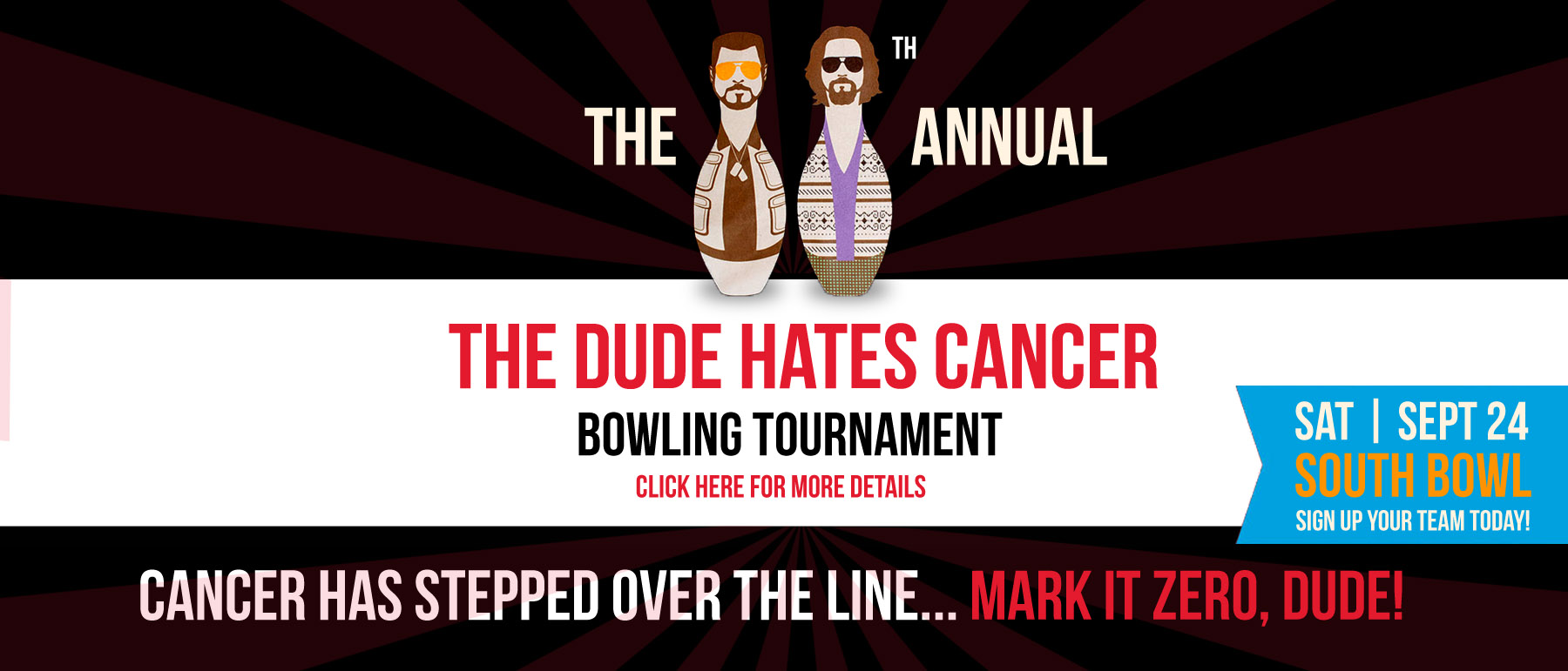The Dude Hates Cancer Bowling Tournament at South Bowl in Philadelphia - 2016