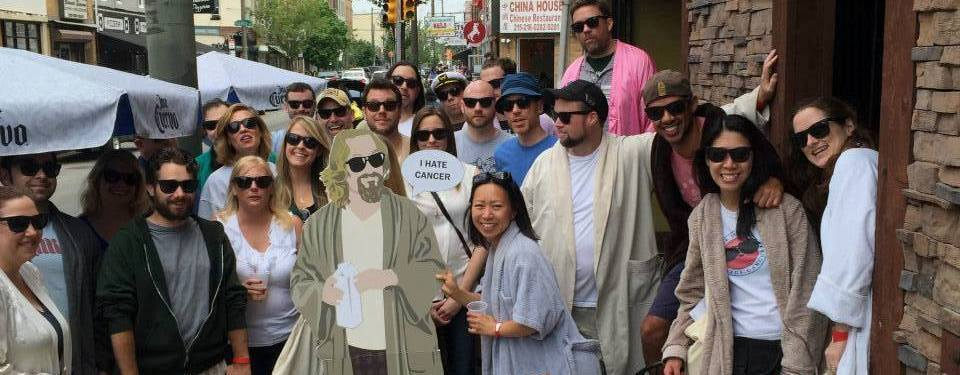 The Dude's Bathrobe Bar Crawl